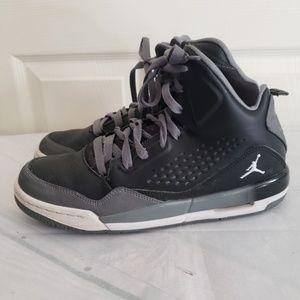 Jordan Hightop Tennis Shoes Size 7Y